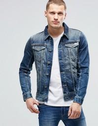 Джинсовая куртка Blend - Темно-синий