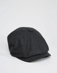Темно-серая кепка ASOS - Угольный