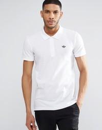 Футболка-поло adidas Originals AZ0945 - Белый