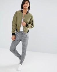 Серые меланжевые джоггеры Vero Moda - Серый