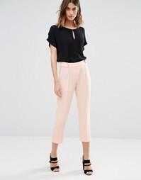 Мягкие брюки-галифе Vero Moda - Бледно-розовый