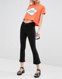 Облегающие джинсы с завышенной талией Cheap Monday - New black