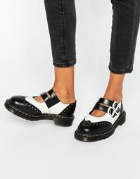 Туфли на плоской подошве Dr Martens Adena II Mary Jane