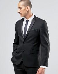 Пиджак суперзауженного кроя Ben Sherman Camden - Черный