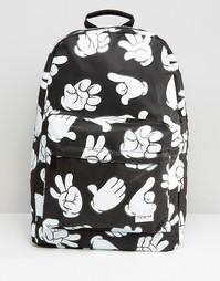Черный рюкзак Spiral Signs - Черный