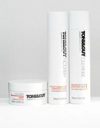 Набор средств для ухода за поврежденными волосами Toni & Guy - Скидка