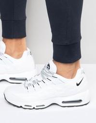 Белые кроссовки Nike Air Max 95 609048-109 - Белый