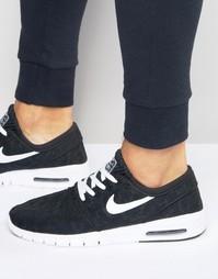 Черные кроссовки Nike SB Stefan Janoski Max 631303-010 - Черный