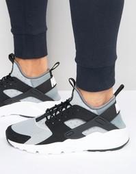 Серые кроссовки Nike Air Huarache Run Ultra 819685-010 - Серый