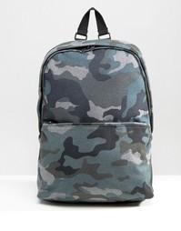 Рюкзак с камуфляжным принтом ASOS - Серый