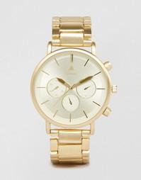Золотистые часы-браслет ASOS - Золотой