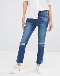 Узкие джинсы бойфренда Waven Erika - Насыщенный синий