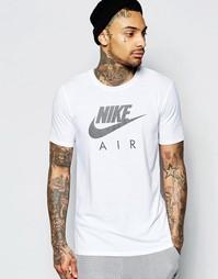 Белая футболка с принтом Nike Air 805220-100 - Белый