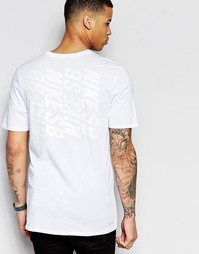Белая футболка Nike SB Stack 806056-100 - Белый