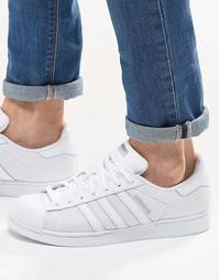 Белые кроссовки adidas Originals Superstar S75962 - Белый