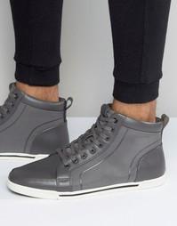 Высокие серые кроссовки Aldo Chester - Серый