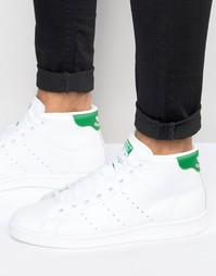 Кроссовки средней высоты adidas Originals Stan Smith S75028 - Белый