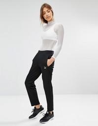 Спортивные брюки с логотипом Puma - Черный