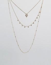 Ожерелье в несколько рядов ALDO Guion - Серебряный