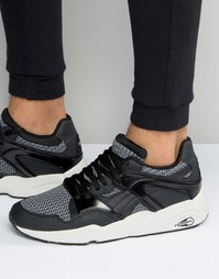 Кроссовки Puma Blaze Knit - Черный
