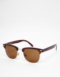 Черепаховые солнцезащитные очки в стиле ретро AJ Morgan Soho