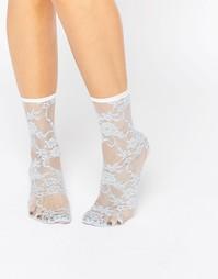 Кружевные носки ASOS - Синий