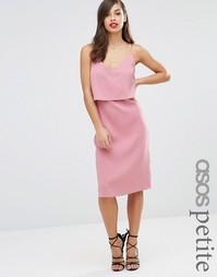 Платье-сорочка ASOS PETITE - Черный