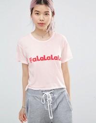Футболка Wildfox Falala - Rosy cheeks