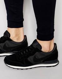 Черные кроссовки Nike Internationalist Prm 828043-001 - Черный