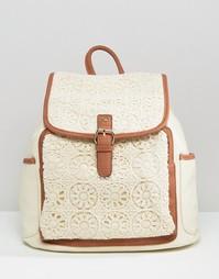 Рюкзак с отделкой кроше Yoki Fashion