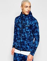 Синяя ветровка Nike TF 835866-480 - Синий