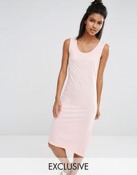 Трикотажное платье Nocozo Blush - Румяный розовый