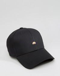 Бейсболка с маленьким логотипом Ellesse эксклюзивно для Asos - Черный