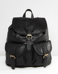 Рюкзак с кармашками Liquorish - Черный