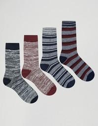 Комплект из 4 пар носков Jack & Jones - Мульти