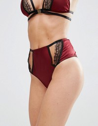 Трусики Playful Promises Lucinda - Wine red