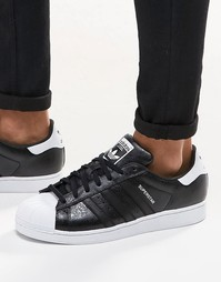 Черные кроссовки adidas Originals Superstar B42617 - Черный