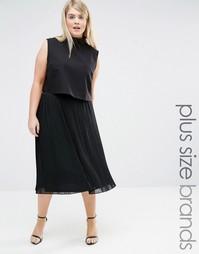 Плиссированная юбка Lovedrobe - Черный