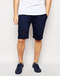 Темно-синие шорты с отворотами Pepe Jeans McQueen - Синий