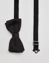 Трикотажный галстук-бабочка Jack & Jones - Серый