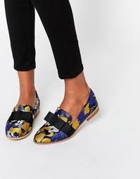 Туфли на плоской подошве ASOS MISSY - жаккард