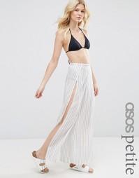 Полосатые пляжные брюки ASOS PETITE - Мульти