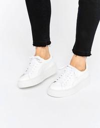 Белые кроссовки-криперы Puma X Rihanna Fenty