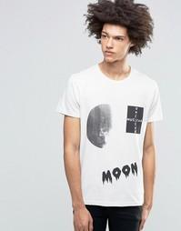Футболка Cheap Monday Moon Collage - Белый