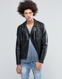 Куртка из искусственной кожи Cheap Monday Triple A - Черный