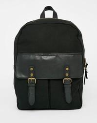 Рюкзак с контрастным карманом ASOS - Черный