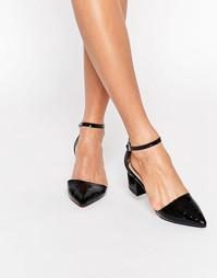 Туфли на среднем каблуке с ремешком на щиколотке Truffle Collection Mo