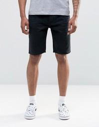 Черные джинсовые шорты Bellfield - Черный