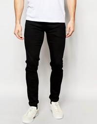 Черные суперстретчевые джинсы скинни Pepe Jeans Powerflex Finsbury