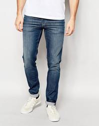 Синие суперстретчевые джинсы Pepe Jeans Powerflex Finsbury - Синий